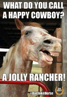 Cowboys can be jolly ranchers