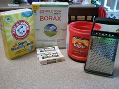 The UnOrdinary Mom: Homemade Laundry Detergent for HE Washers