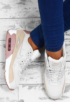 Nike Air Max 90 White Multi Trainers