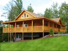 Coventry Log homes- Madison | floorplans | Log Cabin Homes