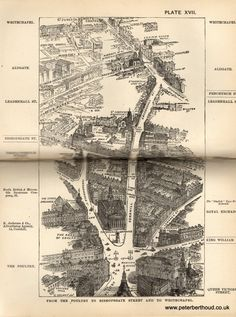 In 1880 Herbert Fry published London a handbook for Victorian visitors. The popular book ran to many editions. A major factor for its success being the inclusion of twenty illustrations providing: &ld London View, London Map, Old London, Victorian London, Vintage London, Victorian Era, Old World Maps, Old Maps, London History