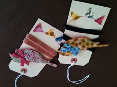 Super cute Liberty print bird hairbands from CindyIncidentally