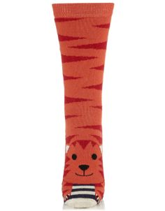 Charnel Tiger Sock | Multi | Accessorize