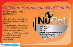 https://flic.kr/p/JbzPPu | Collagen Hydrolysate Beef Gelatin Supplements | Follow Us On : www.facebook.com/NuStrength   Follow Us On : instagram.com/nustrength4122    Follow Us On : nustrength.com.au