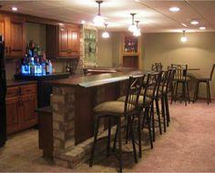 Rec Room Bar By Drury Designs Kitchen Bath Studio Via Great Rooms To