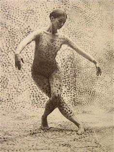 Summerspace, 1958 dance by Merce Cunningham design by Robert Rauschenberg