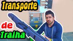PESCA DE PRAIA:  Como carregar suas tralhas com facilidade e rapidez ✱ D...