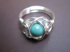 'Genuine Turquoise Ring' is going up for auction at  5pm Tue, Jul 31 with a starting bid of $9.