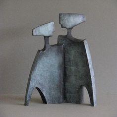 Kunst - brons beeld - Alied Holman - Samen