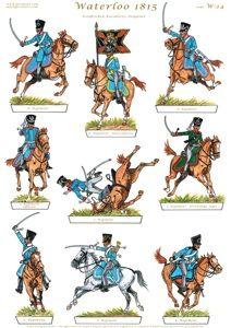 Gorini Art - Soldatini di Carta Military Figures, Military Art, Military History, Waterloo 1815, Battle Of Waterloo, Bataille De Waterloo, German Uniforms, Napoleonic Wars, Toy Soldiers