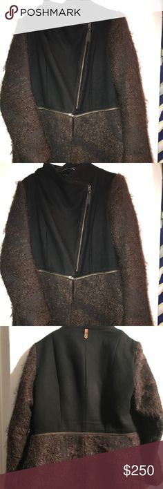 Mackage wool and alpaca coat Mackage wool and alpaca coat  Rare and vintage  15 inches across shoulders  34 inches in length  Detachable bottom 2 in 1 Size large Mackage Jackets & Coats Pea Coats