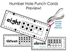 Upper & Lowercase Letter Recognition Matching Hole Punch
