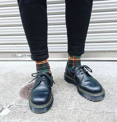 DOC'S & SOCKS: The Bex 1461 shoe, worn by smktgg.