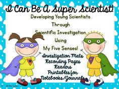Little Miss Hypothesis - Lessons from the Science Lab: My Five Senses Update!