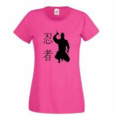 Ninja Warrior 忍者 Womens T-Shirt Martial Arts Gifts #Shirt #Karate #jiujitsu