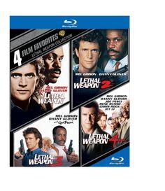Amazon.com: 4 Film Favorites: Lethal Weapon (BD)(4FF) [Blu-ray]: Various: Movies & TV