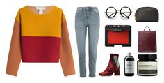 """""""Rose's are red 🌹"""" by aliyyahsophia ❤ liked on Polyvore featuring Philosophy di Lorenzo Serafini, Topshop, ZeroUV, Sort of Coal, NARS Cosmetics, Aesop and MICHAEL Michael Kors"""