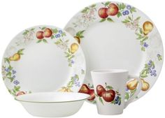 Corelle-Impressions-Chutney-16-Piece-Dinnerware-Service-for-4-not-scalloped-NEW