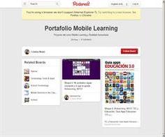 Compartiendo intereses: Portafolio en Pinterest de Mobile Learning y Realidad Aumentada de Cristina Niubó