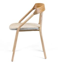 Constructed in China by Japanese craftsmen, Michael Young's Yi Chair for EOQis made from ash