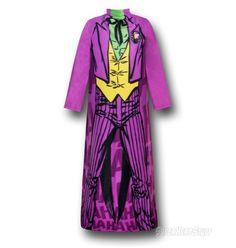 Images of Joker Costume Snuggly Sleeved Blanket