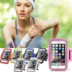 Mobile Phone Cases For Iphone 6 4.7 Plus 5.5 Inch 6plus Mobile Phone Waterproof Sport Gym Running Armband Case Cover Phone Bag Pouch Customized Phone Cases From Mayiandjay, $2.14