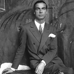 Cristóbal Balenciaga Eizaguirre (1895–1972) Spanish Basque fashion designer & the founder of the Balenciaga fashion house. He opened a boutique in San Sebastián, Spain, in 1919. In 1960 he made the wedding dress for Fabiola de Mora y Aragón when she married king Baudouin I of Belgium. His often spare, sculptural creations were considered masterworks of haute couture in the 1950s & 1960s. Balenciaga closed his house in 1968 at the age of 74 after working in Paris for 30 years.