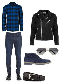 """Bez naslova #3"" by adny544 ❤ liked on Polyvore featuring Diesel Black Gold, Volcom, Topman, Brimarts, Ray-Ban, Neiman Marcus, men's fashion, menswear and MustHave"