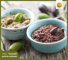 Prepara un delicioso Tapenade o paté de aceitunas para el aperitivo. Es una de las recetas con aceitunas más sencillas y sólo te quitará unos 5 minutos.   ¿Cómo hacerla? Aquí te indicamos los ingredientes y los pasos: http://t.co/MkMMvGsvqA