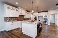 Bardwell Homes creates the home of your dreams. Highland Homes, Functional Kitchen, Home Renovation, Custom Homes, Kitchen Island, Eagle Idaho, Furniture, Kitchen Inspiration, Kitchens