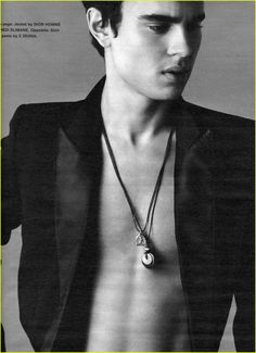 Max Minghella... If he were just a bit thicker...