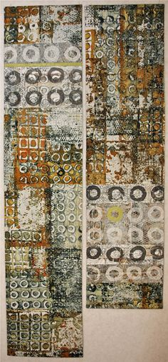 sarah welsby Breakdown printing with paper lamination
