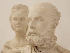 "Maximiliano y Carlota. -photographed at the Museum ""Soumaya"" Mexico-"