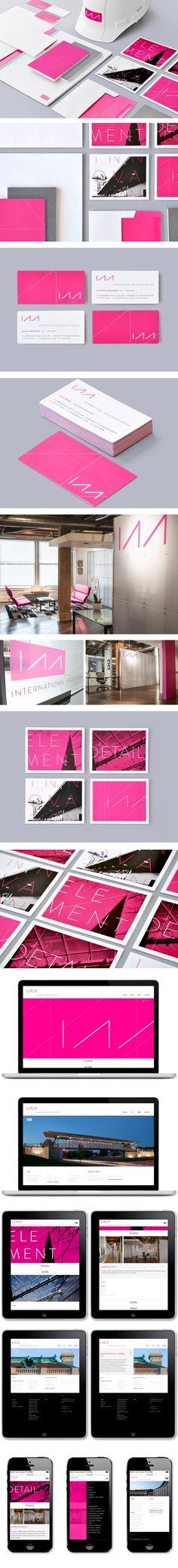 International Architects Atelier | Branding Business Collateral Copywriting Design Marketing Materials Website | Design Ranch