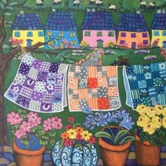 Buy Private commission for Bery., Acrylic painting by Holly Wojahn on Artfinder. Picnic Blanket, Outdoor Blanket, Acrylic Painting Canvas, Paintings For Sale, Artist At Work, Art For Sale, Quilts, Gallery, Outdoor Decor