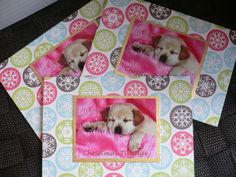 Christmas Labrador dog pup card pack 3 Handmade Greetings dog puppies card Thanksgiving Xmas Holidays Seasons greetings card Handmade Unique by CardsgaloreUK on Etsy