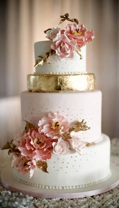 Washington DC Wedding Planner Event And Party Planning Gold Silver Metallic Cakes