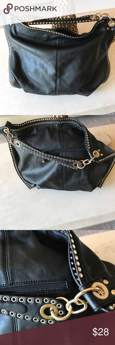 Well made Beautiful Large Black Bag Large bag for all your necessities. Beautifully made carried 1x. No signs of wear. Bags Shoulder Bags