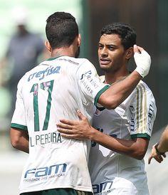 Leandro Pereira e Claiton Xavier - Palmeiras 1x0 Botafogo/SP - Allianz Parque - Campeonato Paulista 12/04/2015