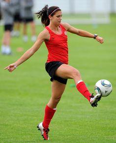 USA Women's Soccer star Alex Morgan