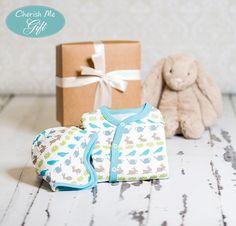 Cherish Me Baby Gift - Blue Springtime