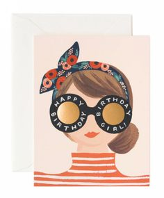 Birthday Girl Card by Rifle Paper Co.