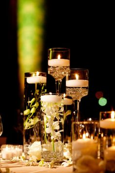 Floral-Floating-Candle-Centerpiece