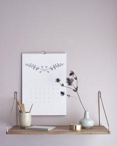 Botanical calendar 2016 by RK DESIGN.bigcartel.com