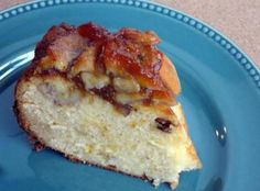 Caramel Pecan Banana Cake Recipe | Just A Pinch Recipes
