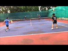 Tennis:  Never Give Up