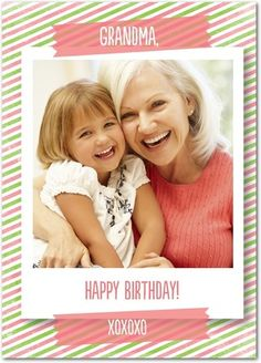 Personalized Birthday Cards For Grandma From Treat Greeting Greetings