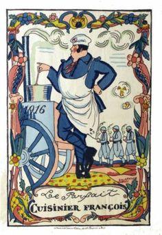 ARNOUX GUY Le Parfait Cuisinier François - 1916. - Librairie Lutetia Paris Aff. Entoilée.
