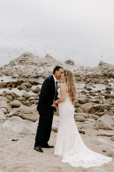 Al + Toni Asilomar Beach Elopement Elopement Inspiration, Engagement Inspiration, Wedding Portraits, Couple Portraits, Destination Wedding Photographer, Destination Weddings, Bachelor Party Gifts, Romantic Wedding Photos, Beach Elopement