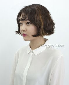 Active cushion perm #short #hair #beauty #cut #chahongardor